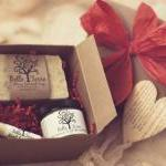 Red Gift Box - Soap, Lotion, and Li..
